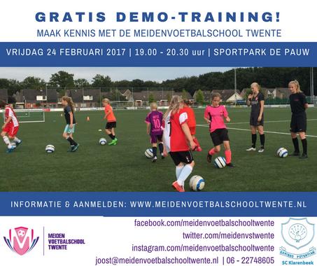 Gratis demo-training SC Klarenbeek