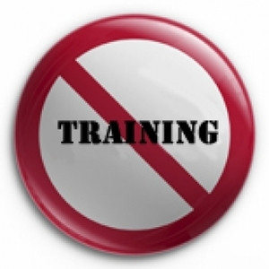 Meivakantie: geen training