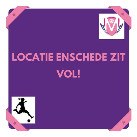Locatie in Enschede zit vol