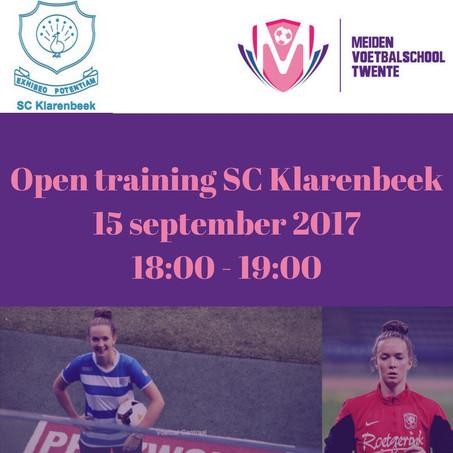 Open training SC Klarenbeek onder leiding van Kirsten Bakker
