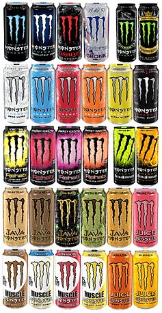 Monster Energy | Arizona | Kalil Bottling Co