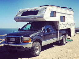 FORD-350 & LANCE CAMPER 4 SALE