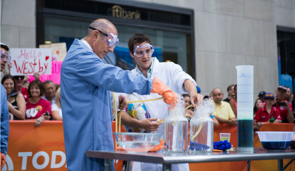 Nick-Uhas-and-Matt-Lauer-engage-in-a-sci