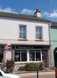Serene Skincare Entrance and window