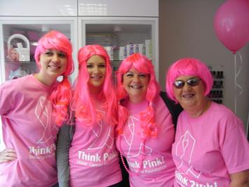 Think Pink at Serene Skincare