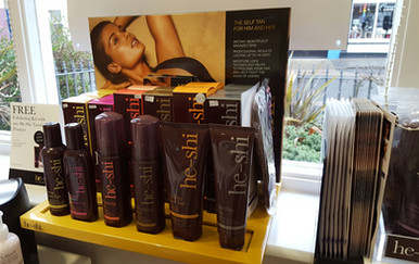 He-Shi Tanning products