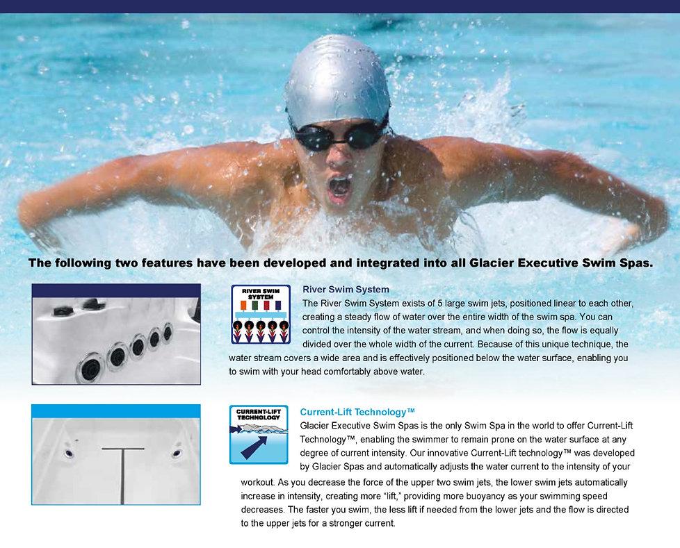 Glacier Executive Swim Spas
