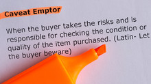 CAVEAT EMPTOR – Buyer Beware! All Credentials Are Not the Same!