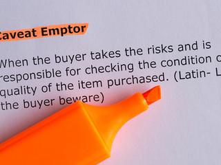 CAVEAT EMPTOR – Buyer Beware! All Credentials Are Not the Same!