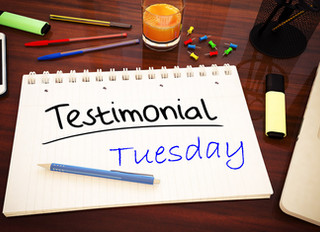 Testimonial Tuesday Times Two