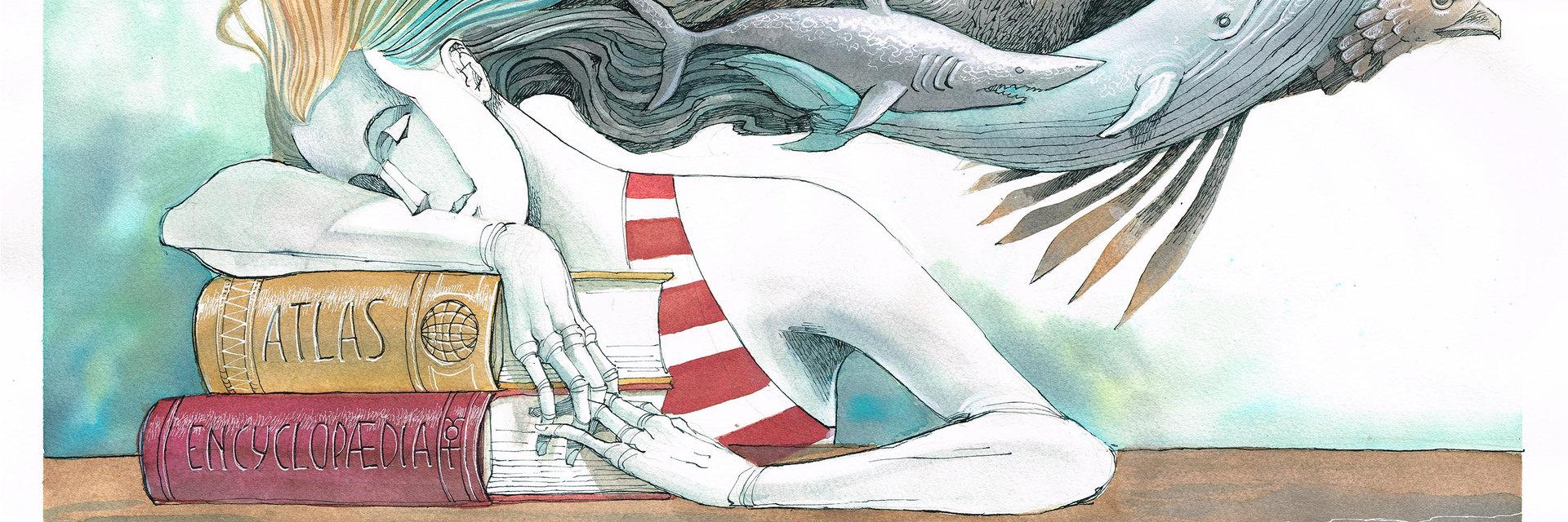 "Illustations for the magazine ""Illustrati"""