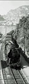 Blue Train in the French Riviera (no cre