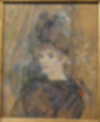 Portrait of Suzanne Valadon by Toulouse-