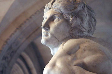 Michelangelo's Demons The Louvre - Slave