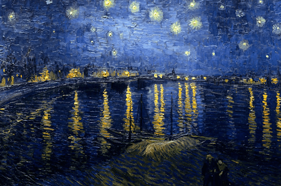 Vincent Van Gogh masterpieces. The Starry Night at the Metropolitan Museum of Art in New York - Ariodante Luxury Travel