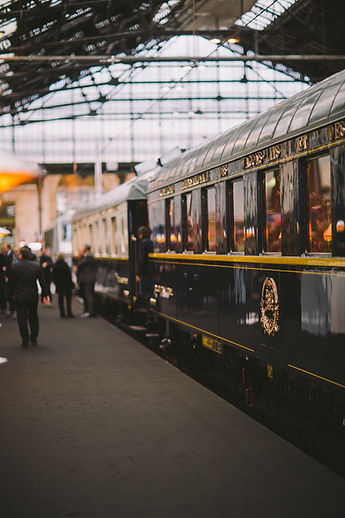 The Mystery of the Blue Train. On board of the Orient Express