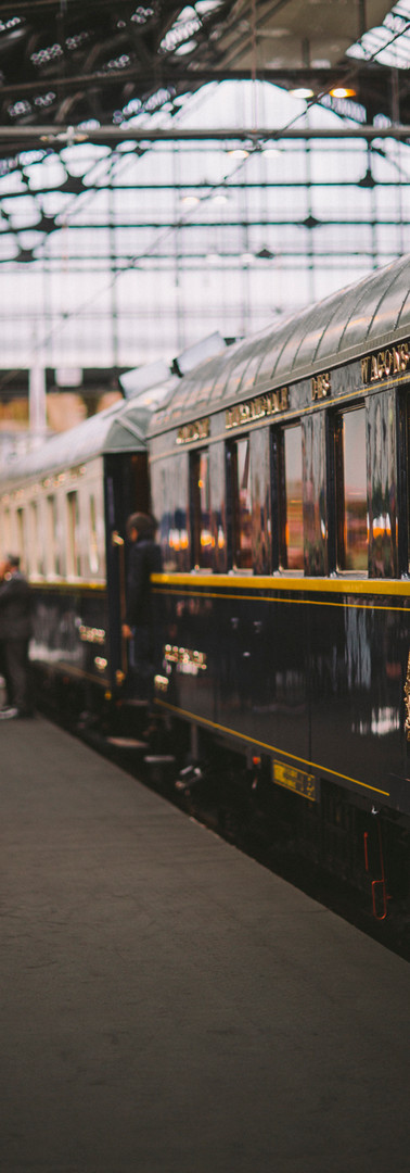 The Mystery of the Blue Train. On board