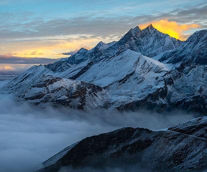 The Alps in winter - Ariodante luxurious heliski adventure