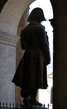 Monument to Napoleon Bonaparte in the Invalides in Paris
