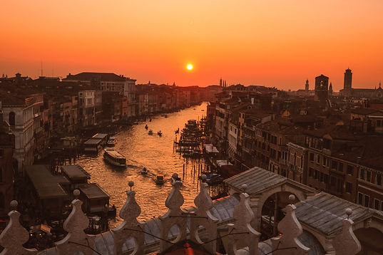 Sunset over Venice - Lord Byron's trips and the English Poets - Ariodante Luxury Travel Sabbatical