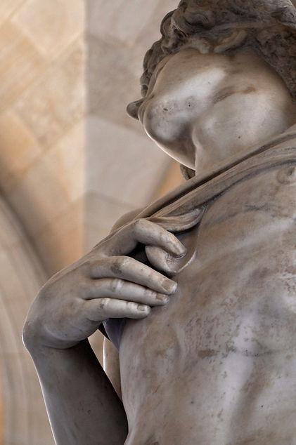Michelangelo's Demons - The Louvre Slave
