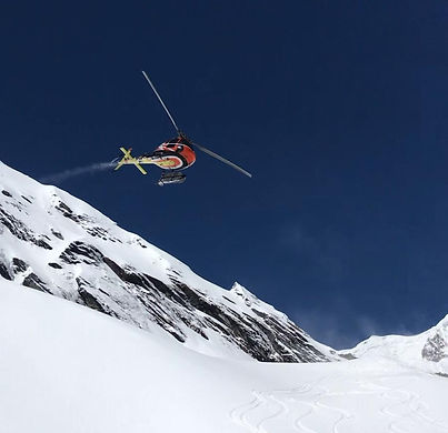 The most luxurious heli-skiing adventure in the Alps