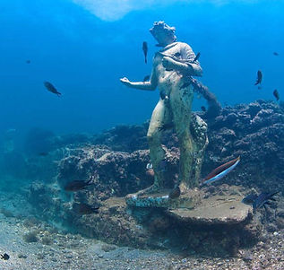 Explore the underwater ancient ruins of the Mediterranean with Ariodante Luxury Travel