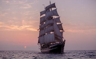 Cruise on board of the Belem, the oldest 3 mast ship in Europe