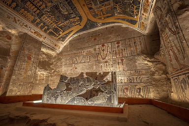 A private visit to Ramses' tomb and all the secrets of the Vally of the Kings in Egypt