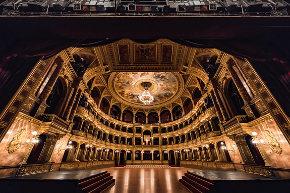 Backstage of an Opera House with an ultra-luxury unique travel experience