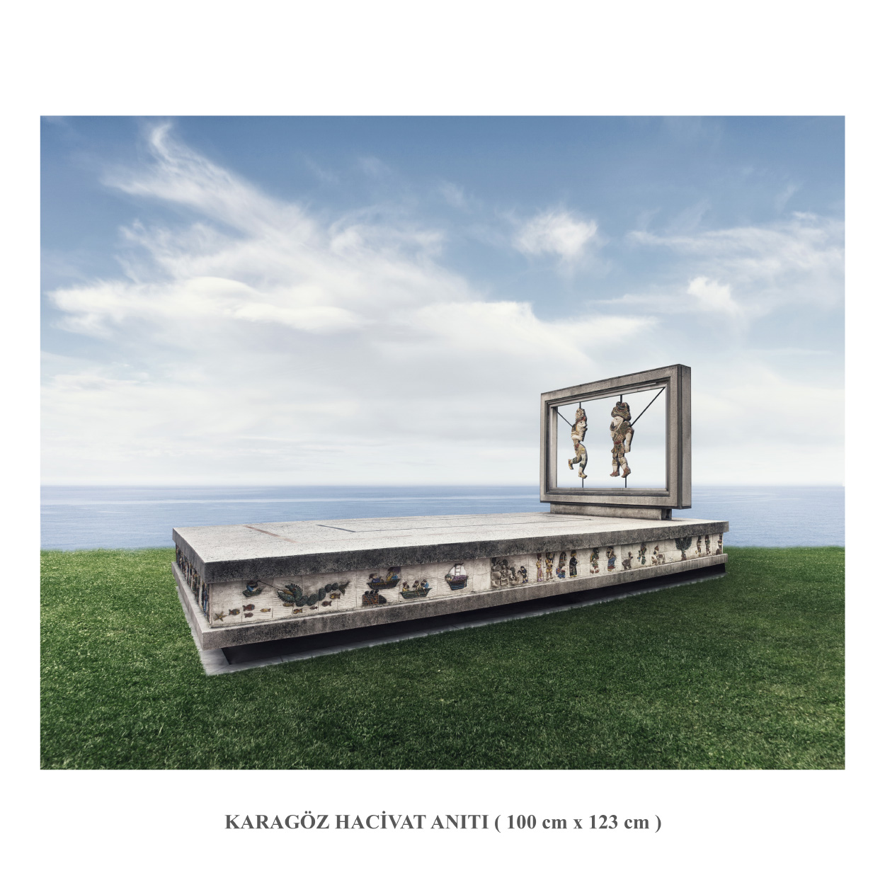 Karagöz Hacivat Anıtı copy