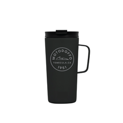 MotoDoffo Insulated Tall Black Camp Mug