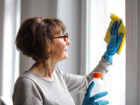 ¿Cómo puedo mantener mi casa desinfectada?