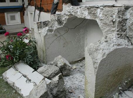 Воздействие на бетон процесса замерзание и оттаивание