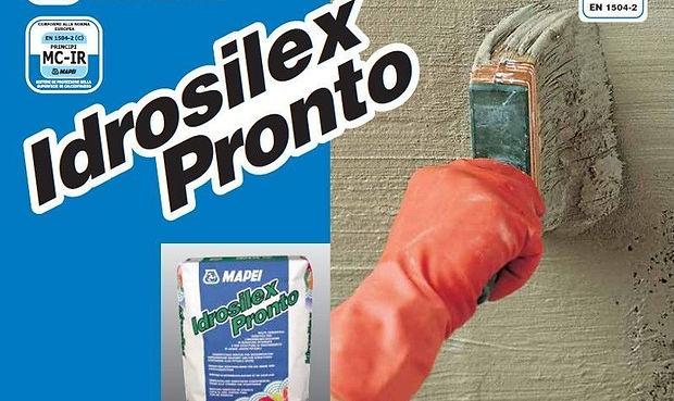 обмазочная гидроизоляция Idrosilex Pront