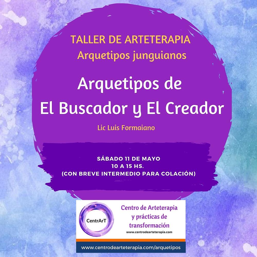 Taller vivencial de Arteterapia:  Arquetipos Junguianos
