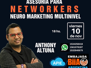 Asesoría para networkers. Neuromarketing multinivel