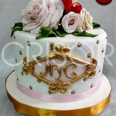 Sofisticación en tu torta