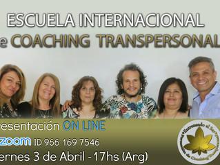 FORMACION de COACHING ONTOLOGICO -Videoconferencia gratuita  el viernes 3/4 - 17hs.