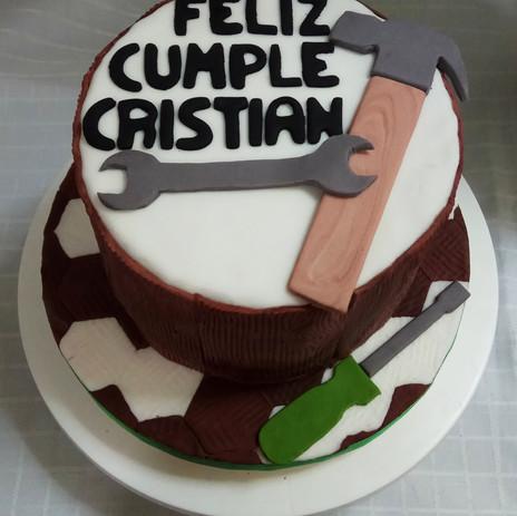 Torta Cumpleaños de varón