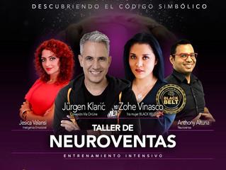 Taller de NEUROVENTAS con Zohe Vinasco, Jurgen Klaric, Anthony Altuna y Jesica Valansi