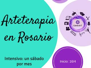 ¡ARTETERAPIA en Rosario!