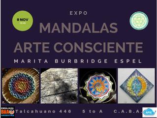 Expo Mandalas. Arte Consciente.