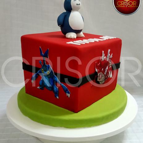 Torta de Cumpleaños Pokemon