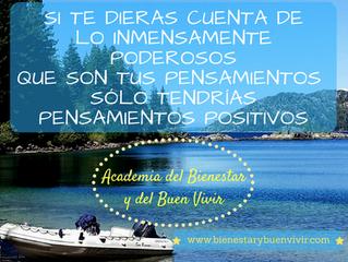 Pensamientos positivos para vivir bien
