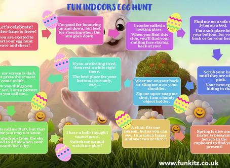 Fun Free Printable Indoor Easter Egg Hunt