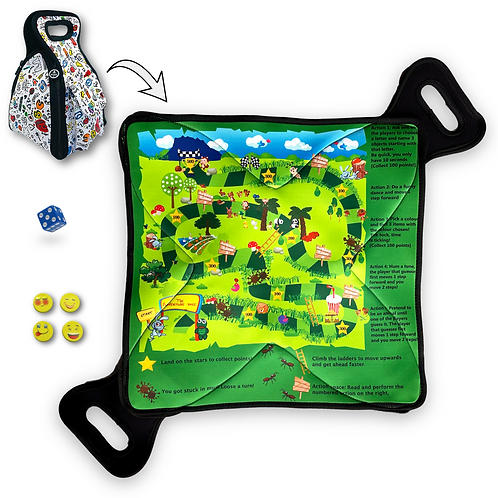 Kids Lunch Bag - Opens into Placemat