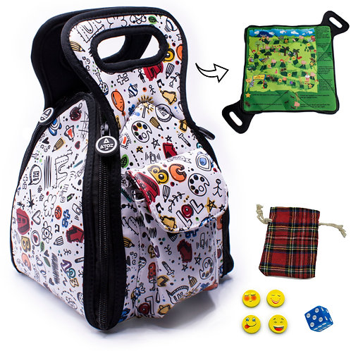 Board Game Lunch Bag for Kids