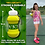 Thumbnail: Collapsible Tennis Shaped Water Bottle