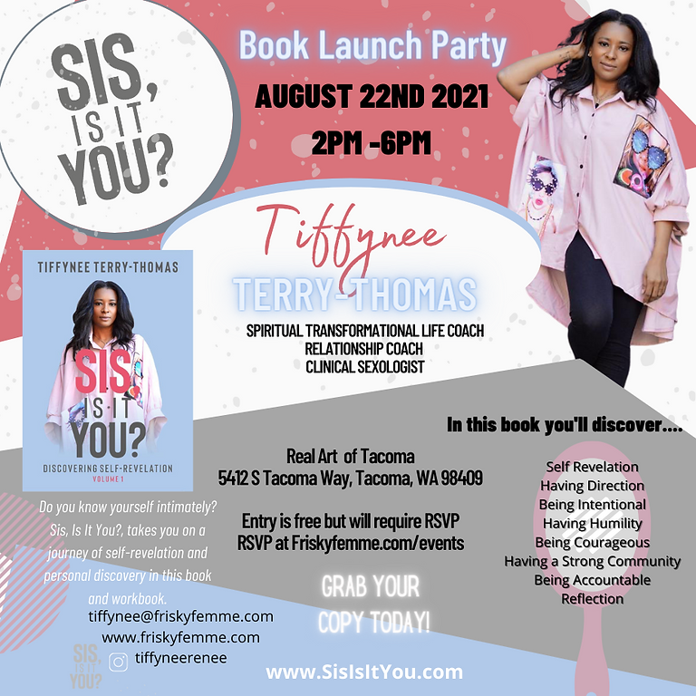 Sis, is it you? Discovering Self Revelation Book Launch